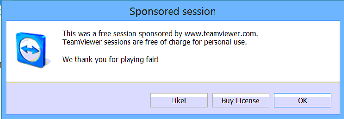 Teamviwer Sponsored Session